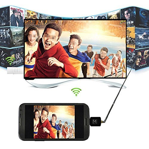 I-Sonite Mini Portable Micro USB DVB-T Digital Mobile TV Tuner Receiver For Htc Desire 12+ by I-Sonite