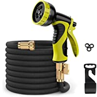 ERAY 50 Feet Expandable Garden Hose, Durable and Lightweight Expandable Water Hose for Car Wash Cleaning Heavy Duty, 10…