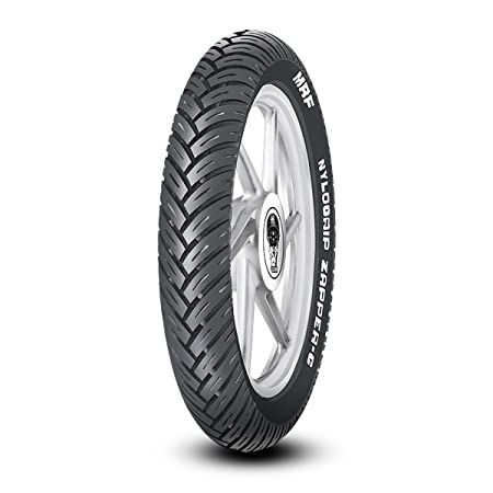 MRF Nylogrip Zapper-C 100/90-17 55P Tubeless Bike Tyre, Rear