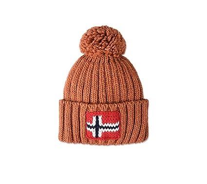 1bb6a3f9d08 Napapijri Bonnet Homme  Amazon.fr  Vêtements et accessoires