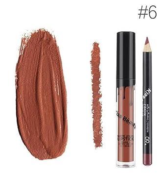 Amazoncom Kiss Beauty Matte Liquid Lipgloss Lipstick And Lip