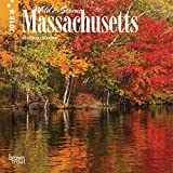 Massachusetts, Wild & Scenic 2018 7 x 7 Inch Monthly Mini Wall Calendar, USA United States of America Northeast State Nature