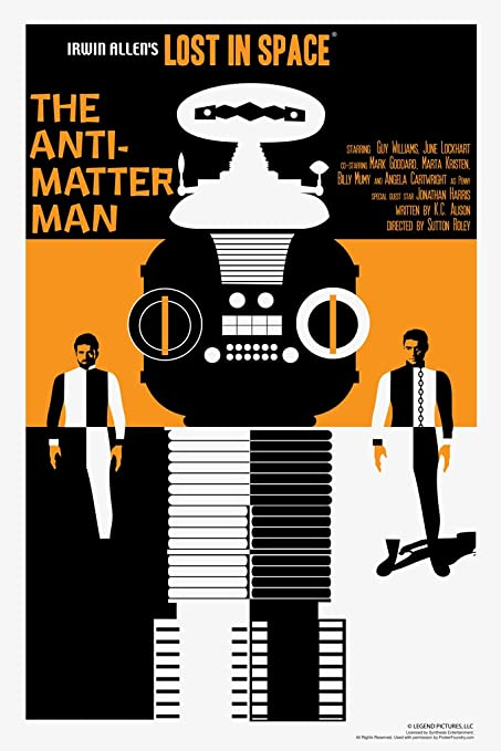 Amazoncom Lost In Space The Antimatter Man By Juan Ortiz