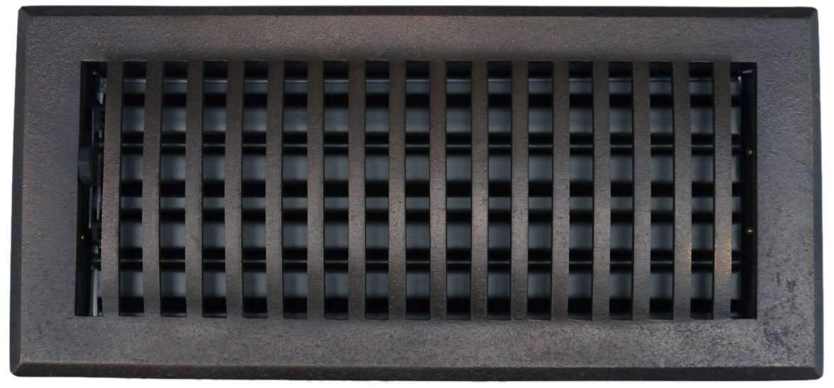 Hamilton Sinkler RVT-2424-BP Hamilton Sinkler Scroll Ceiling/Floor/Wall Vent, 24 by 24-Inch, Bronze Patina