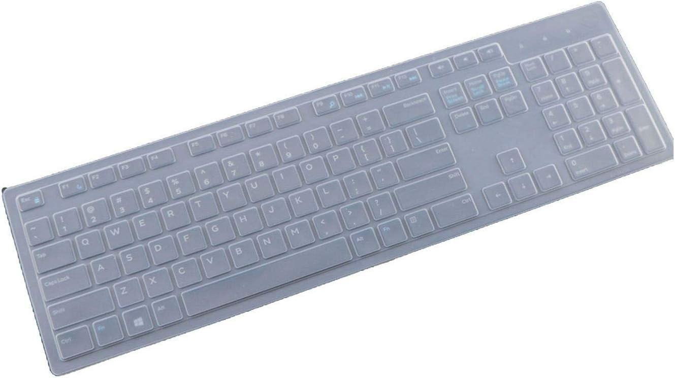 All-Equal - Funda para teclado Dell Inspiron Desktop 3050 Kb216P Km636 3459 3477 3275 3277 3475 3670 5477 3264
