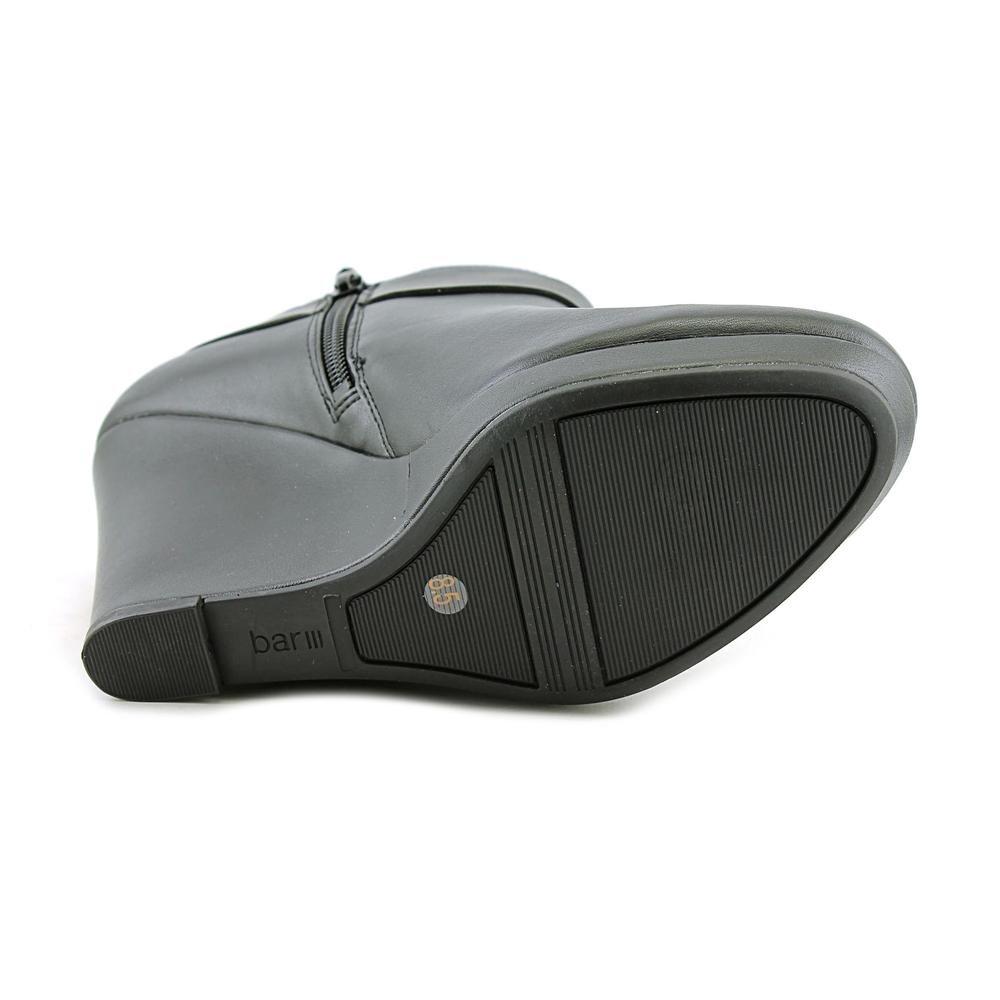 Bar III TIGER2, Platform Stiefel Geschlossener Frauen, Geschlossener Stiefel Zeh, Leder schwarz 9495dd