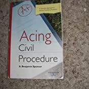 Acing civil procedure a checklist approach to solving procedural customer image fandeluxe Image collections
