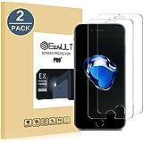 EasyULT Panzerglas Schutzfolie für iPhone 7/iPhone 8, 2 Stück
