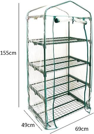 Mini Serre De Jardin, Couverture De Serre Chaude D\'usine De Ménage De  Rangée De Jardin De PVC Mini (sans Support De Fer)