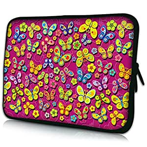 Bkjhkjy Colorful Butterfly Pattern Protective Sleeve Case for Samsung Galaxy Tab 2 P3100 and others , 7