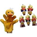Pinkyee The Nursery Rhyme Finger Puppets for Five Little Ducks