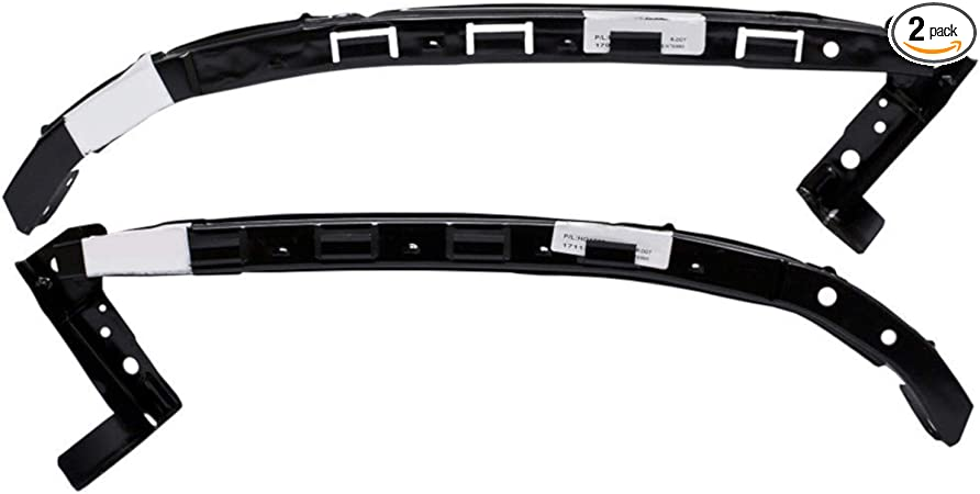 Set of 2 Bumper Face Bar Fillers New Front Right-and-Left Sedan LH /& RH Pair