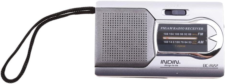 IPOTCH 1 Pieza de Radio Mini Bolsillo Receptor Electronico Antena Telescópica
