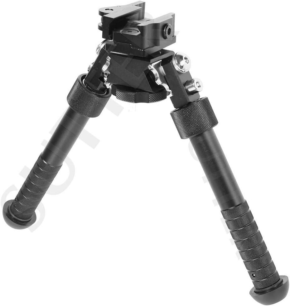 SUTTER Bípode para Weaver y Picatinny/Cojín de Tiro y Apoyo para Escopeta de Aire comprimido, Softair y Rifle