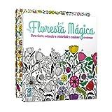 capa de Livros de Colorir. Floresta Mágica + Maravilhoso Jardim Mágico - Kit