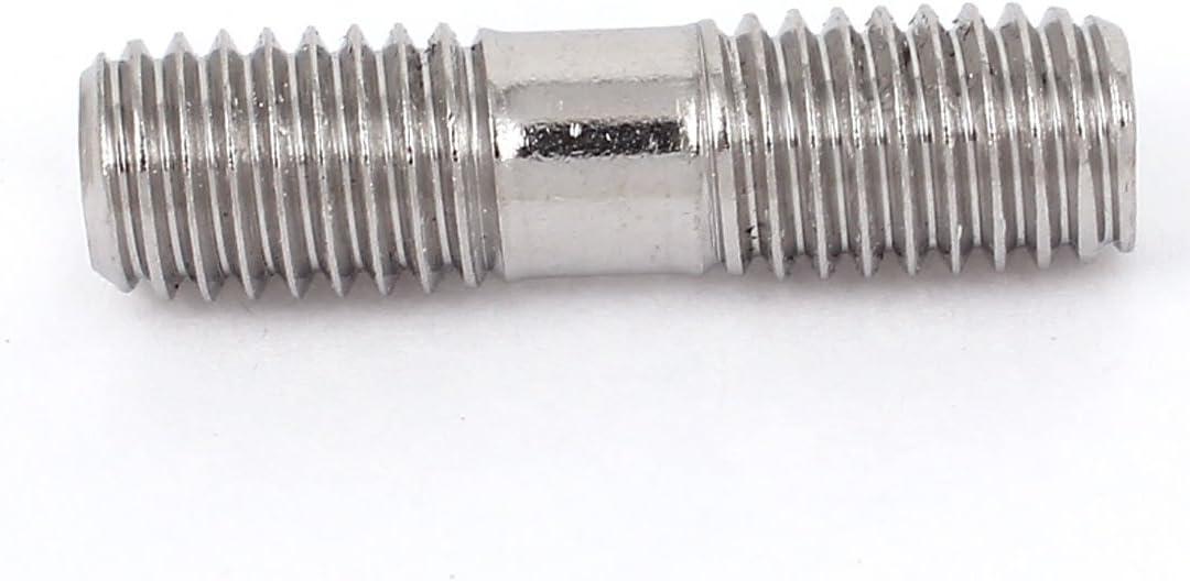 00be17a607ff7ea00e299b3623da63cb Aexit M8 x 30mm Metric A2 Edelstahl Double End Gewindebolzen Schraubbolzen 5 St/ück
