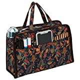 xhorizon SR Bag in Bag Organizer Multi-Pocket Handbag Insert Purse Cosmetic Bag Organizer with Handles for Women