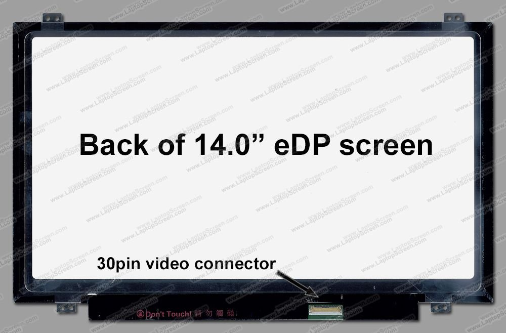 AUO B140HAN01.1 IPS High Gamut for ThinkPad T440 New Replacement LCD Screen for Laptop LED Full HD Matte by Generic (Image #1)