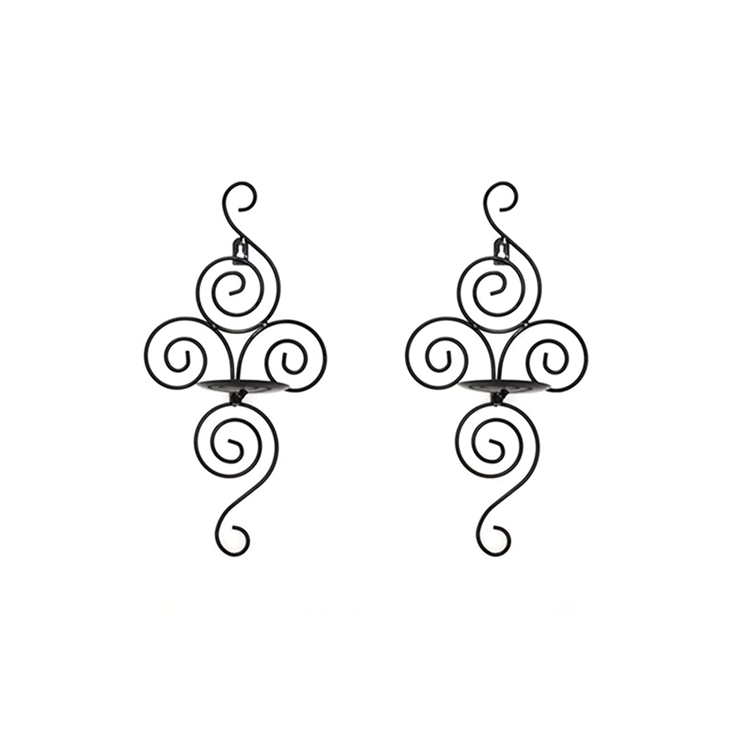 SWM 32402 Scrollwork Candle Sconces