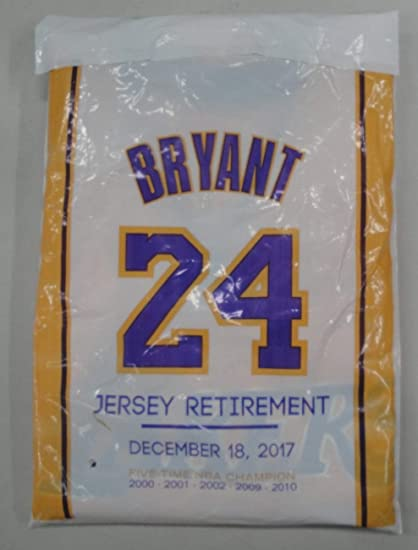 Kobe Bryant Unsigned Los Angeles Lakers 8 24 Jersey Sga