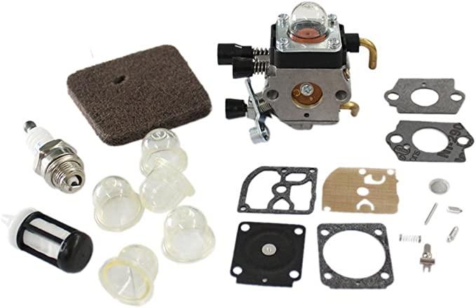Mtsooning Carburateur diaphragme Joint d/étanch/éit/é kit Fit Stihl Fs130r Zama C1q-s98/C1q-s114/Rb-132
