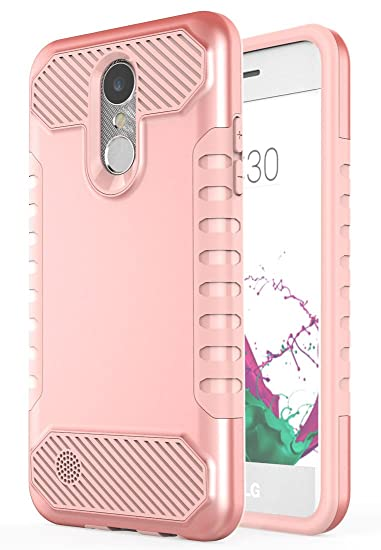huge discount 808f8 042f8 LG Aristo Case, LG Phoenix 3 Case, LG Fortune Case, LG Risio 2 Case, Moment  Dextrad [Non-slip Grip] [Dual Layer] Shockproof Slim Anti-Scratch LG K8 ...