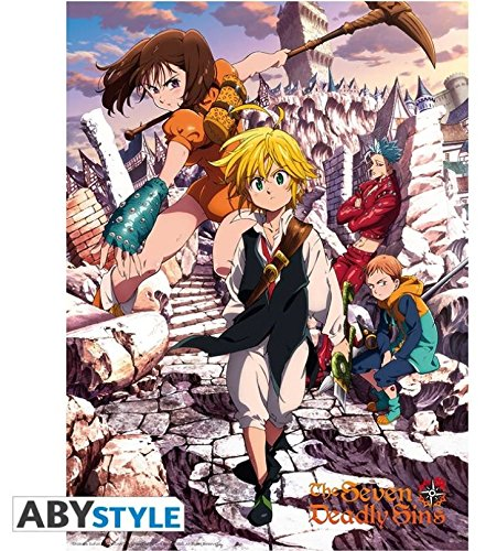 ABYstyle The Seven Deadly Sins - Battle for Liones Mini Poster (15 x 20.5)
