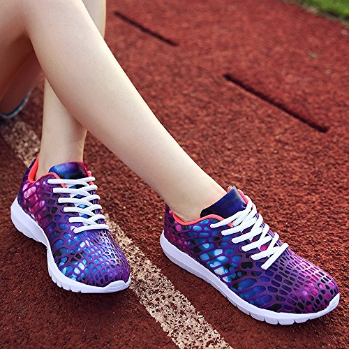 Lightweight Shoes Clearance Girls Gym HARRYSTORE Walking Men Trainers Unisex Outdoor Bottom Women Shoes Sport Platform Purple Sneakers Thick Running Casual Hiking Yvq6Yrw