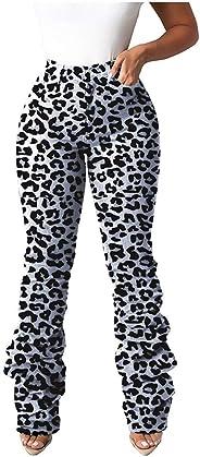 FONMA Women Jeans Stretch Distressed Ripped Slim Skinny Trousers Leggings Casual Pants