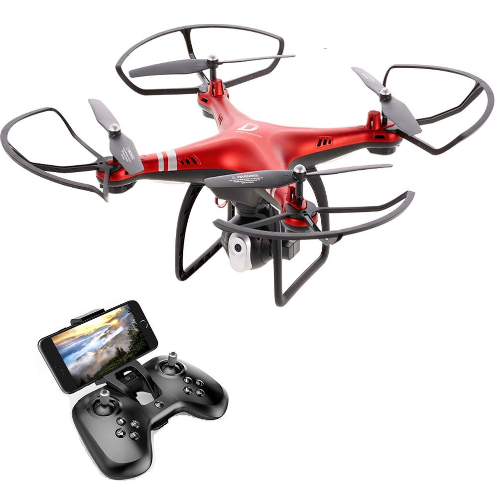 Goolsky Dongmingtuo X8 Drone 2 4G 720P Camera FPV Wifi Drone Headless Mode  Altitude Hold RC Quadcopter