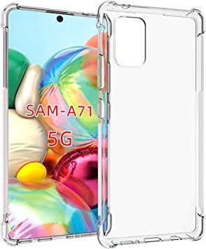 Amazon Com Galaxy A71 5g Case Samsung A71 5g Case Not Fit A71 5g Uw Verizon Edition Pushimei Soft Tpu Crystal Transparent Slim Anti Slip Protective Phone Case Cover For Samsung Galaxy A71 5g Clear