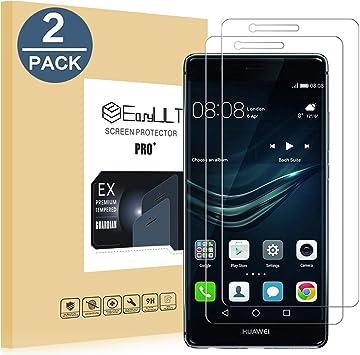 EasyULT Protector de Pantalla para Huawei P9 Lite [2 Pack ...