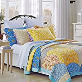 Fairview Handmade Pure Cotton Patchwork Quilt By Calla Angel, Queen