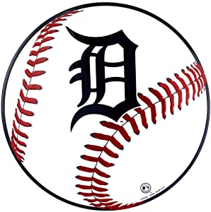 Detroit Tigers MLB Baseball Metal Sign Sports Man Cave Embossed Decor Vintage Aluminum Metal Signs Tin Plaque Wall Art Poster for Garage Beer Cafe Bar Pub Club Patio 12