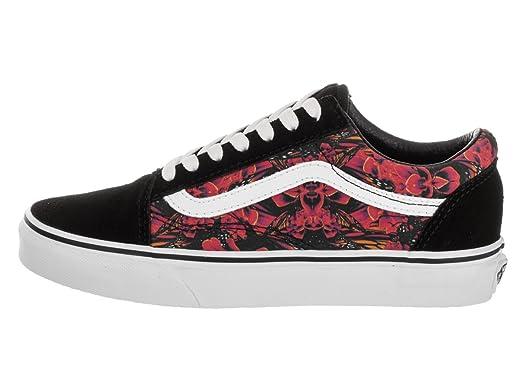 Amazon.com | Vans Unisex Old Skool (Butterfly Dreams) Blk/TRW Skate Shoe  8.5 Men US/10 Women US | Shoes