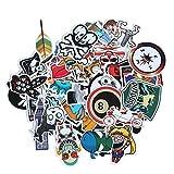 KOBWA Car Motorcycle Bicycle Skateboard Laptop Luggage Vinyl Sticker Graffiti Laptop Luggage Decals Bumper Stickers, 100 Pieces