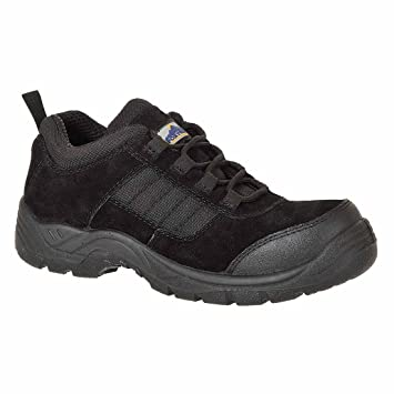 Portwest FC66 - Trouper zapato S1 36/3, color Negro, talla 36