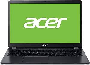 """Acer A315-54 - Ordenador portátil de 15.6"""" FullHD (Intel Core i5-10210U, 12GB RAM, 256GB SSD, Intel HD Graphics 620, Windows 10 Home), Color Negro - Teclado QWERTY Español"""
