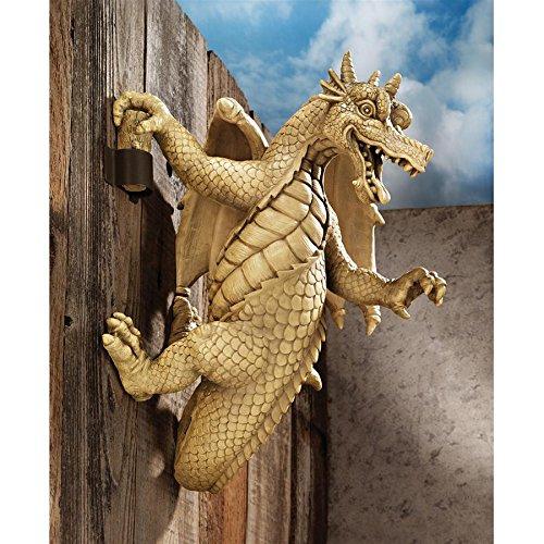 (Design Toscano Dread, the Dangling Dragon Wall Sculpture)