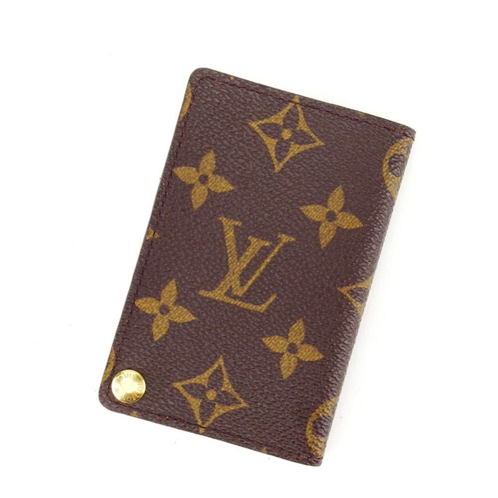 (Louis Vuitton) ルイヴィトン カードケース 名刺入れ メンズ可 ポルトカルトクレディプレッシオン M60937 モノグラム 中古 L581   B01M1IDY8E