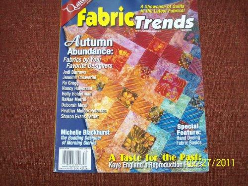 Fabric Trends Magazine FALL - Fabric Magazine Trends