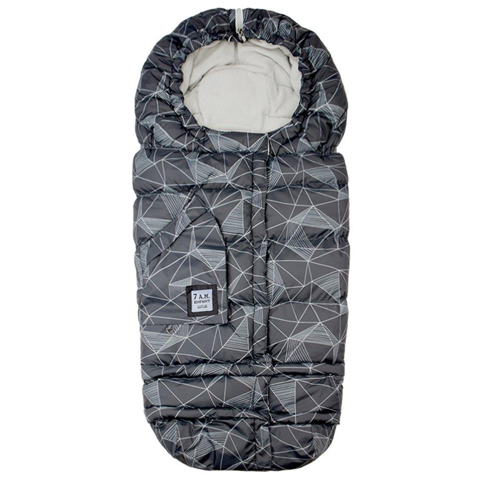 7 A.M. ENFANT Blanket Evolution 212, Prints Black Geo B212E-PBKG