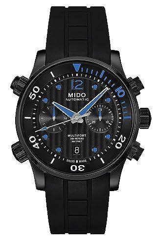 Mido Reloj Analógico para Hombre de Automático con Correa en Caucho M005.914.37.050.00: Amazon.es: Relojes