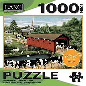 Jigsaw Puzzle 1000 Pieces 29x20 Cows Cows Cows