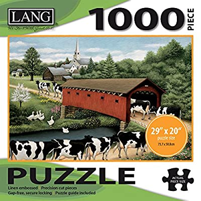 Jigsaw Puzzle 1000 Pieces 29x20 Cows Cows Cows