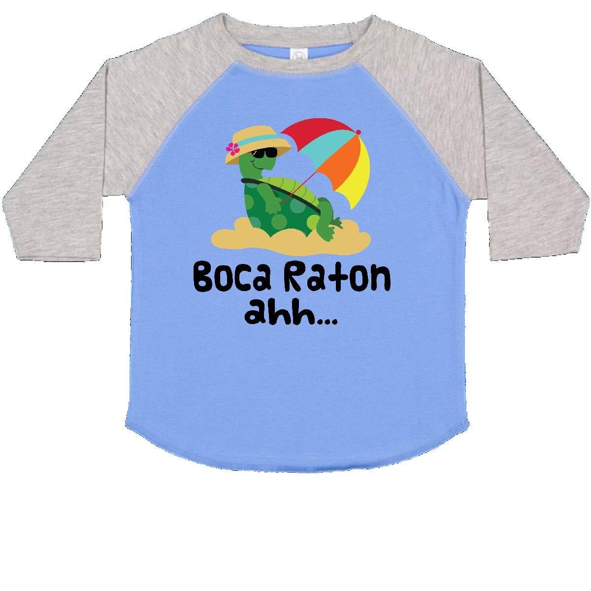 Amazon.com: inktastic Boca Raton Florida Toddler T-Shirt ...