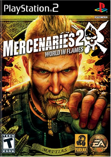 Mercenaries 2 World Flames PlayStation product image