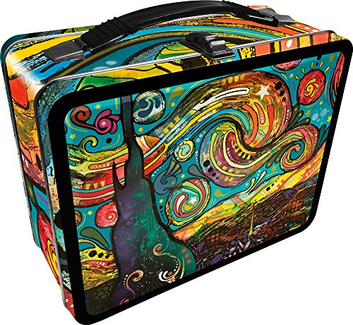(Aquarius Dean Russo Starry Night Large Gen 2 Tin Storage Fun Box)