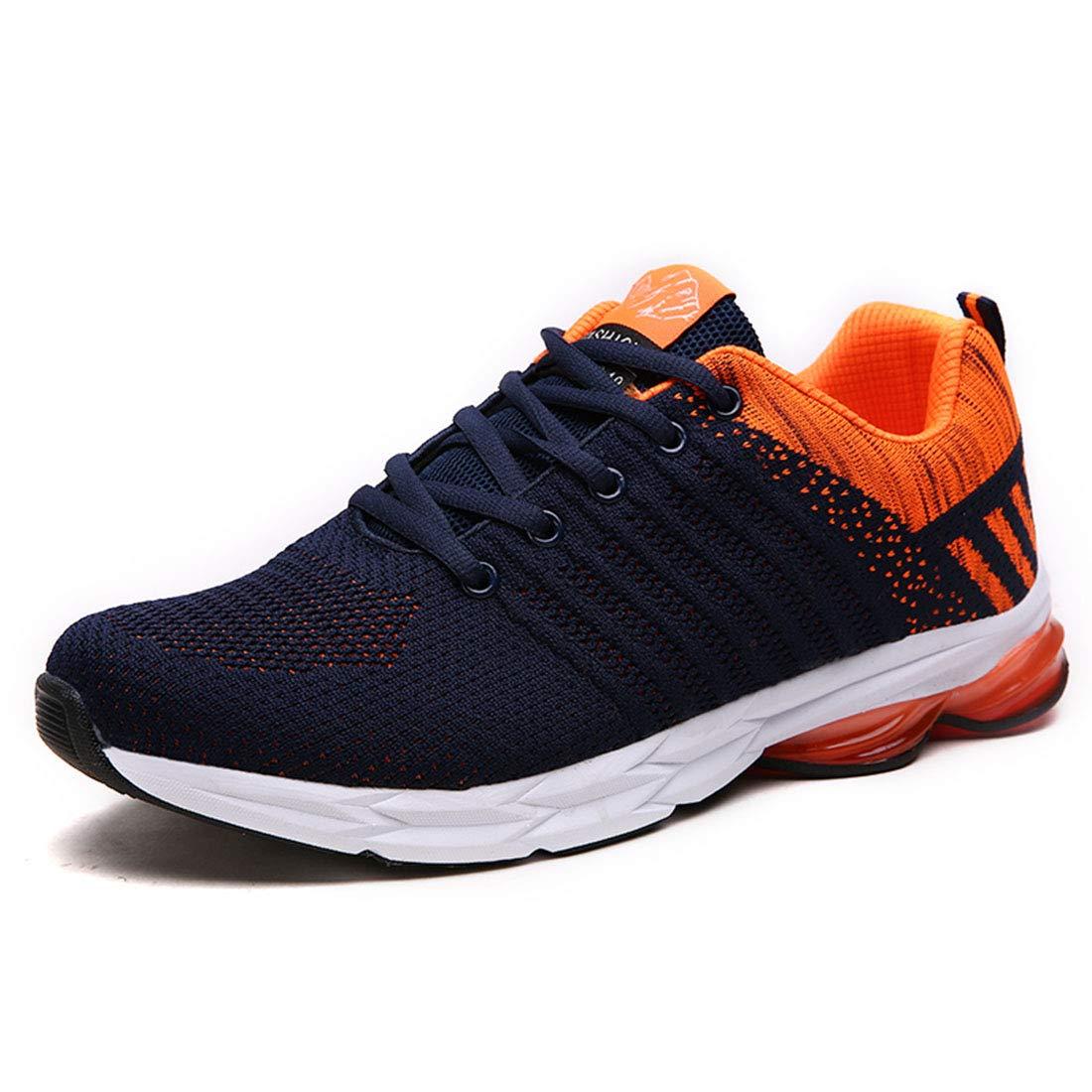 para Hombres Montaña y Asfalto Libre Deporte Running Zapatos Gimnasio Sneakers Transpirables Casual Running Sneakers Resistente Running Zapatillas Zapatillas Deportivas de Malla Ligera