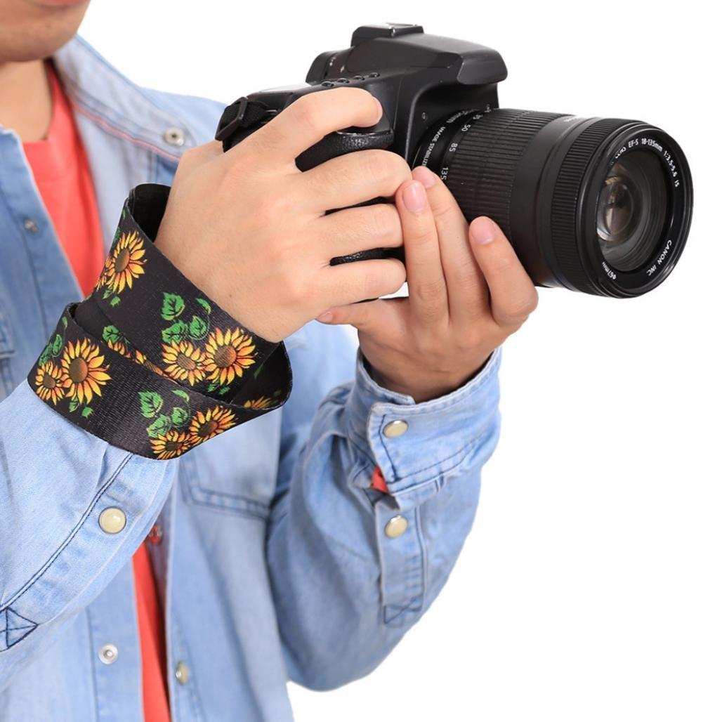 MChoice Soft Multi-Color Universal Camcorder Camera Shoulder Strap Neck Belt for DSLR (C)